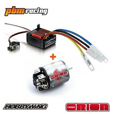Team Orion Method Pro 15t 540 Brushed Electric RC Motor / Hobbywing ESC Combo