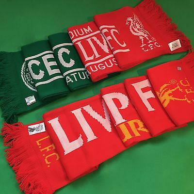 Liverpool FC / Celtic Football Club - Tour 2013 Reds Official Scarf *BRAND NEW*