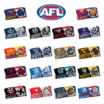 NEW 2017 Official AFL Pillow Case Pillowcase 73cm x 48cm