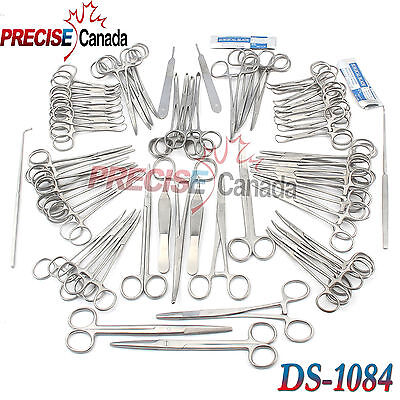126 Pcs Canine+Feline Spay Pack Veterinary Surgical Instruments Ds-1084