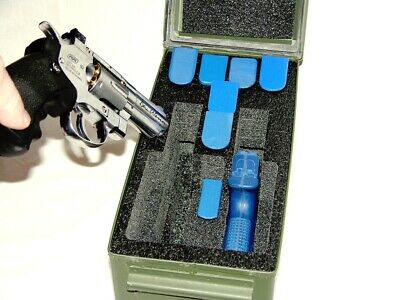 Closed cell Foam fits 50cal 50 cal caliber Ammo Can 2 Pistol Quickdraw