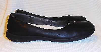 Camper Womens Flat Black Leather Shoes Size 8.5
