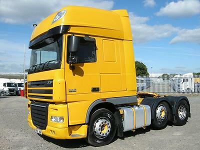 DAF XF105 460 SUPERSPACE 6x2 TRACTOR UNIT 2011