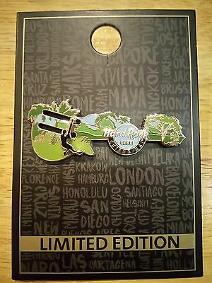 Hard Rock Cafe Chiang Mai Limited Edition Pin Zip Line Guitar