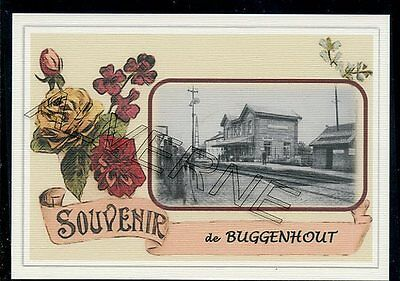 BUGGENHOUT  - gare souvenir creation moderne - serie limitee numerotee