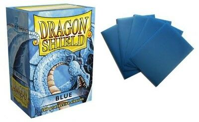 Dragon Shield - Blue 100 protective Sleeves Hüllen Standard Kartenhhüllen