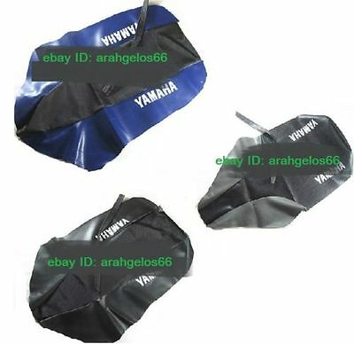 BLUE/BLACK GREEN SEAT COVER fit YAMAHA TTR TT YZ 125 230 250 450 R F KAWASAKI