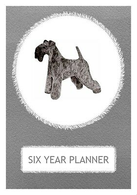 Kerry Blue Terrier Dog Show Six Year Planner/Diary by Curiosity Crafts 2017-2022