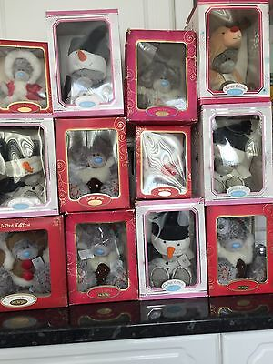 Large Joblot 12 Boxed Xmas Me To You Tatty Teddy Bears Special & Limited Edition