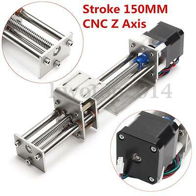 Z Axis Slide 3 Axis 150MM DIY Milling Linear Motion CNC Engraving Machine New