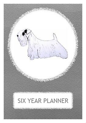 Sealyham Terrier Dog Show Judging Planner by Curiosity Crafts 2018-2023