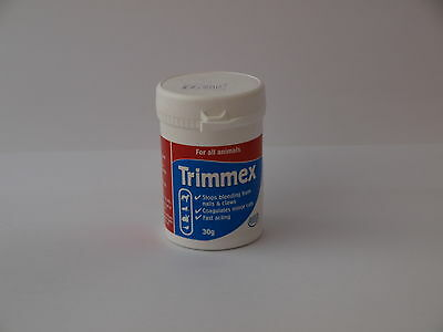 HATCHWELLS TRIMMEX FOR ALL ANIMALS.STOPS BLEEDING FROM NAILS & CLAWS,30g