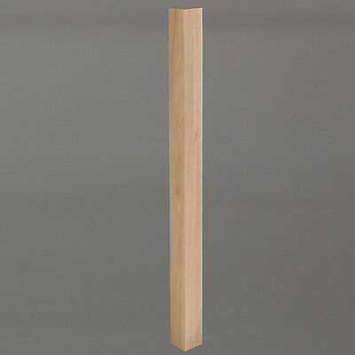 Oak Stair Newel Post - 90mm Posts - Lengths from 1500mm to 3600mm