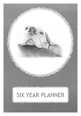 Hungarian Vizsla Dog Show Six Year Planner/Diary by Curiosity Crafts 2017-2022