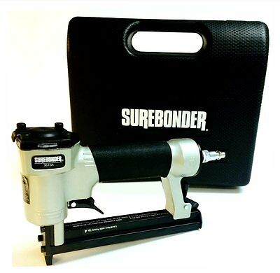 Surebonder 9615A Upholstery Stapler with Carrying Case