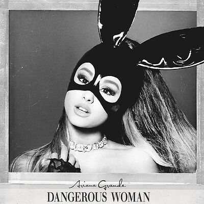 "Ariana Grande Dangerous Woman Album Art Poster 32x32"" 24x24"" 18x18"" Music Silk"