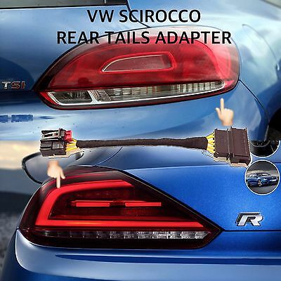 VW Scirocco rear lights / tail lights 2015 Facelift to 2008/2014 Adapter