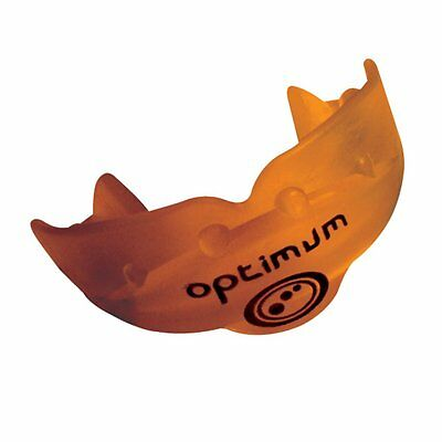 Optimum Sports Rugby Dual Composite Construction Matrix Mouthguard- Orange