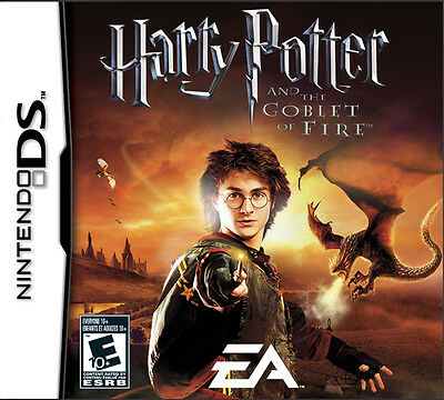 *BOX & MANUAL ONLY* HARRY POTTER AND THE GOBLET OF FIRE - NINTENDO DS / DSi