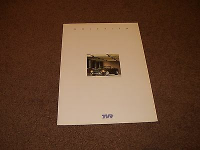 TVR Griffith 500 Brochure