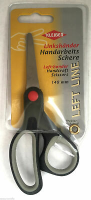 Kleiber 140mm Left Handed Stainless Steel Multi Purpose Scissors Handcraft