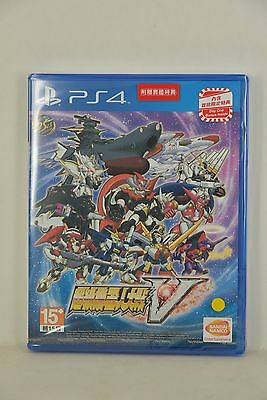 NEW PS4 Super Robot Taisen War Wars 5 V 超級機械人大戰V (HK Chinese 中文版) + Bonus + DLC