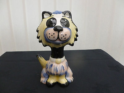 """Lorna Bailey """" Muppet """" Cat Brand New Hand Painted & Signed"""