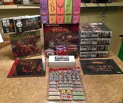 The Others 7 Sins Board Game Complete - All Expansions & Kickstarter exclusives