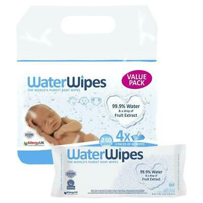 WaterWipes Value Pack 4x60 Wipes