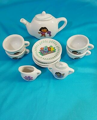 Dora The Explorer Tea Set