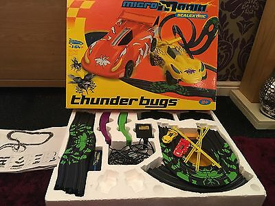Micro Mania Scalextric: Thunder Bugs, Boxed In Good Condition