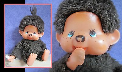 Vintage toy, 1974 monkey, Monchhichi, sekiguchi, made in Japan