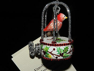 Patricia Breen Holly Winter Song Bird In A Jeweled Cage