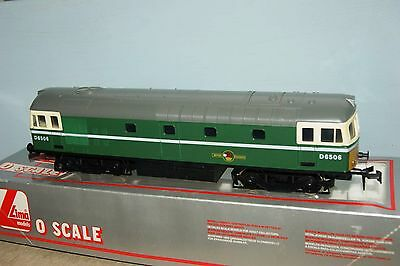 O gauge 7mm EXCELLENT Lima Class 33 in BR green 'D6506' NICE LOCO and RUNS WELL