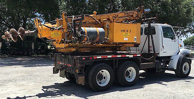 Texoma HDE Pressure Digger Drill Rig Auger Drilling Pier Pile Caisson Truck