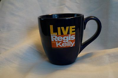 Live with Regis And Kelly Mug Cobalt Blue Coffee Cup/Mug Collectible
