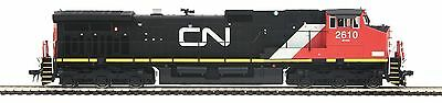 Mth Ho 80-2291-0 Canadian National  Dash 9 Dcc Ready Road No.2610