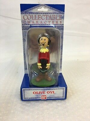 OLIVE OYL Collectable CHARACTERS Popeye the Sailor Man BAN DAI UNOPENED 1990