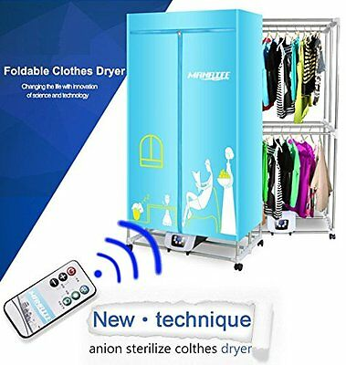 Portable Clothes Dryer 1200W Electric Laundry Energy Saving Drying Rack