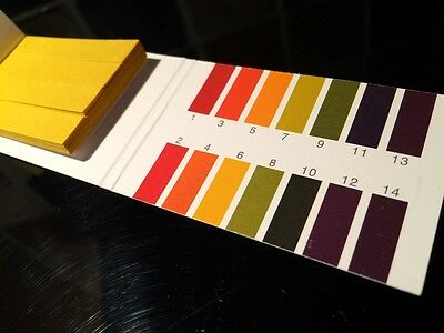 Ph Test Strips Kit 1-14 PH Find the PH of your soil or nutrient solution.