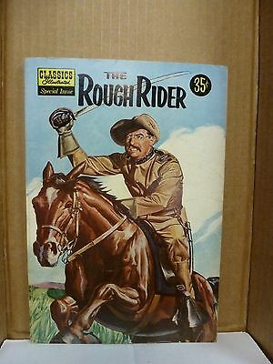 Classics Illustrated Special Edition, The Rough Rider. Evans art. 141a VG
