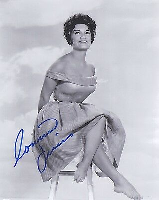 Signed Original B&W Photo of Connie Francis of 1960's Music