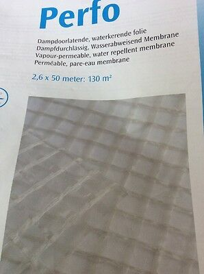 Breather Membrane Sold By The Metre 3000 Mm Wide You Choose Length