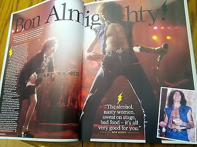 AC/DC Bon Scott 35th Anniversary Tribute 11 Pages Best Songs British Mag Angus