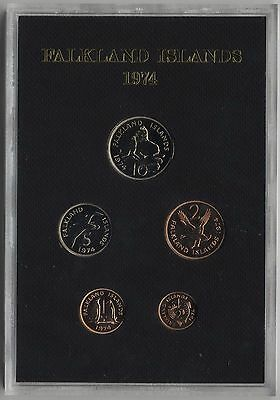 1974 Coinage Of The Falkland Islands***Collectors***