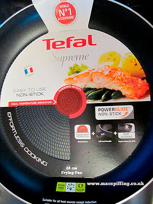 Tefal Supreme 28cm  Frying pan, Thermo-Spot, Excellent Quality.