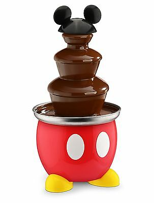 Disney DCM-50 Mickey Mouse Chocolate Fountain Red