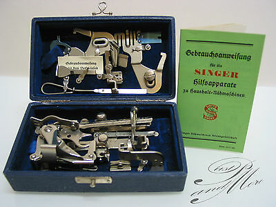 SINGER Featherweight 221 and 222 accessoires from the 30`s 40`s