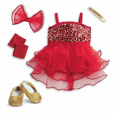 New American Girl Doll Sparkly Jazz Outfit/set New In Box!