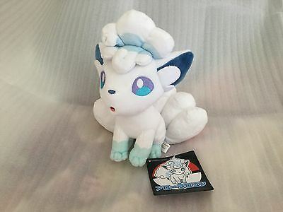 Pokemon Center Original Plush Doll Alola Vulpix Rokon Japan